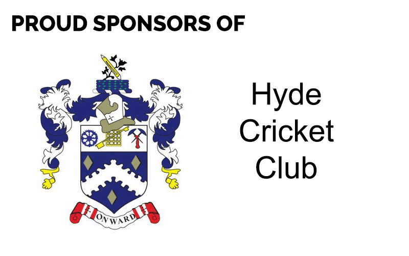 Hyde Cricket Logo